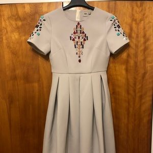 Asos Dress with beaded detail size 6